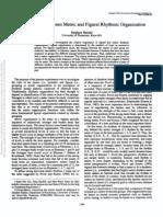 The Interplay Between Metric and Figural Rhythmic Organization