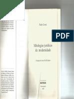 PaoloGrossi MitologiasJuridicasdaModernidade cap1