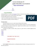 Lab1 Formulare HTML RO