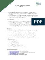 Galway EC – Online ICT Resources Workshop Spring 2014 PDST
