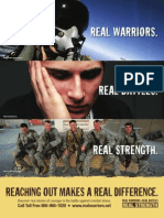Real Warriors Campaign Air Force Poster 1