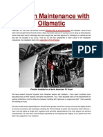 Aviation Maintenance With Oilamatic