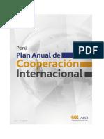 Agencia Peruana de Cooperación Internacional Perú. Plan anual de cooperación internacional. Lima, 2013