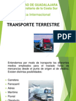 Transporte Terrestre Expo de Logistica