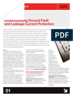 Understanding Ground Fault and Leakage Current