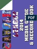 2014 Carolina League Media Guide and Record Book