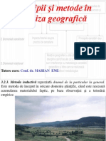 Metode in Analiza Geografica