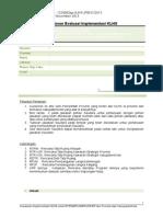Kuesioner Implementasi KLHS Di Daerah 2013