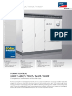 Data Sheet Sunny Central Inverters CP-Series