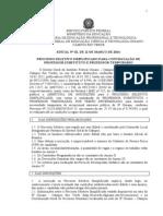 Edital Processo Seletivo Simplificado 002.2014