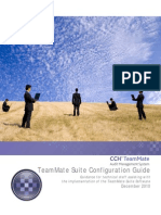TeamMate Configuration Guide