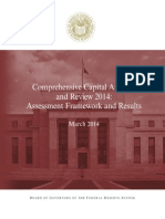 Comprehensive Capital Analysis and Review 2014