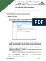 3RA PRACTICA DE COMPUTACIÓN
