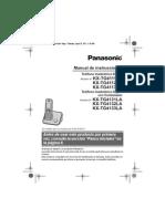 Panasonic Inalambrico TG4111AG