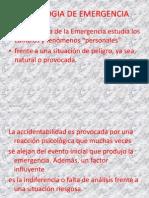 Psicologia de Emergencia