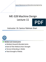 ME-328 Machine Design - Lecture 11