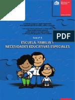 Escuela, Familia Y Necesidades Educativas Especiales