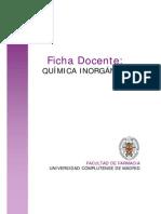 DEFINICIÓN DE QUIMICA INORGÁNICA