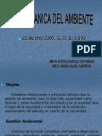 Taller Ley Organica Del Ambiente