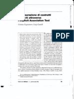 Misurazione costrutti impliciti con IAT