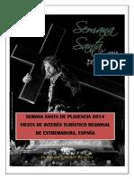Programa Semana Santa de Plasencia 2014