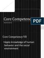 core competency 7