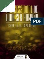 A Necessidade de Todo Ser Human - C.H.spurgeon