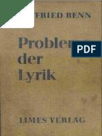 BennGottfried - Probleme der Lyrik.Pdf