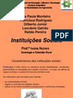 Apresentação Final Instituiçoes