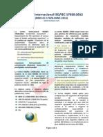 La Norma Internacional ISO IEC 17020