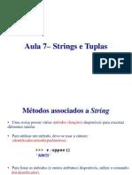 Aula7 - Strings