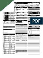 Character Sheet Atraros