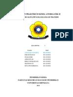 Percobaan 6-Laporan Praktikum Kimia Anorganik II