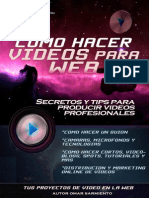 Como Hacer Videos Para Web Introduccion