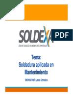 Soldadura Aplicada en Mantenimiento 2012