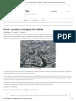 Urbanidades _ Kevin Lync...Bano e Planos Diretores