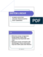 Kuliah 7 Sistem Linear