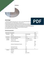 Hollow Fiber Pan Uf Membrane