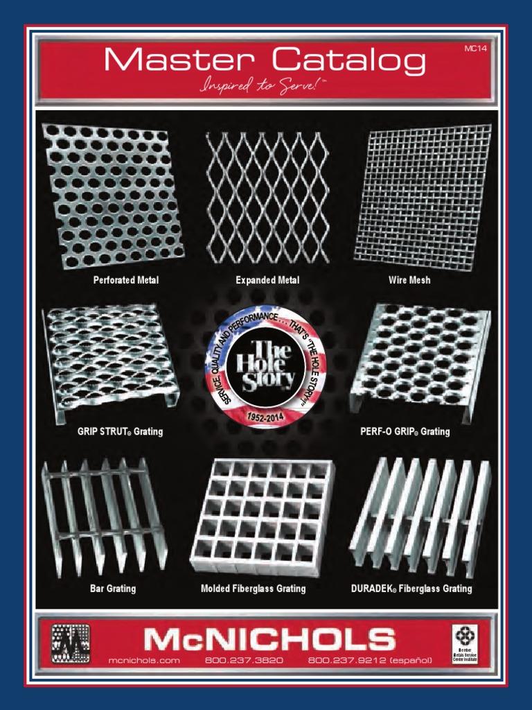 Mcnichols Master Catalog   Sheet Metal   Wire