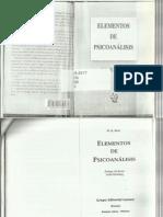 Bion, W. R. - Elementos de Psicoanálisis - Ed. Lume - Horné