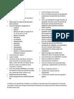Documentos Requeridos por la Dirección General del Trabajo