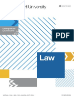 Monash Faculty of Law Undergraduate Course Guide 2015