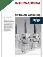 Actuator Hydraulic]