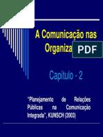 A Comunicacao Nas Organizacoes Aula UFT - Alunos