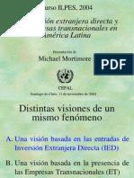 MMortimore Inversion Extranjera