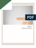 Hidrologia Capacidad de Inf Media