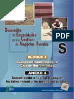 Desarrollo de Capacidades Para La Gestion de Negocios Rurales (Cuerpo Instrumental de La Caja de Herramientas - Bloque 2. Anexo 4)