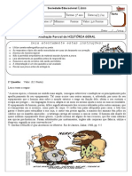 3ºANO I - 1º TRIMESTRE - PRÉ-HISTÓRIA, ANTIGA E GRÉCIA