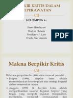 BERPIKIR KRITIS KEPERAWATAN