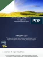 Estructura de los Materiales Inorgánicos - copia